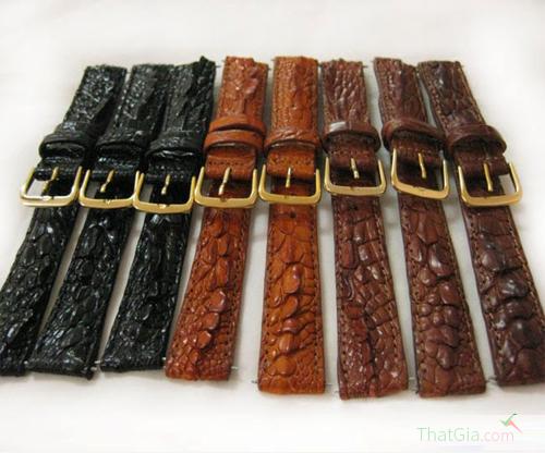 Bạn có biết phân biệt đồng hồ dây da cá sấu thật hay giả không?