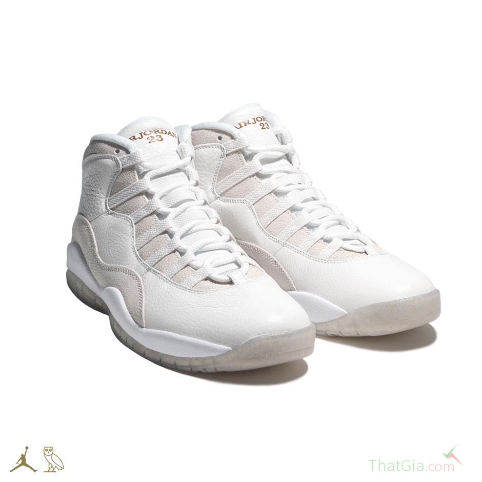 Phân biệt giày Air Jordan 10 OVO Thật Giả