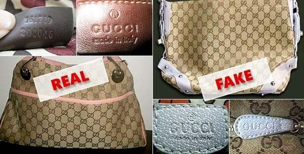 Phân biệt hàng hiệu Gucci Thật và hàng Fake