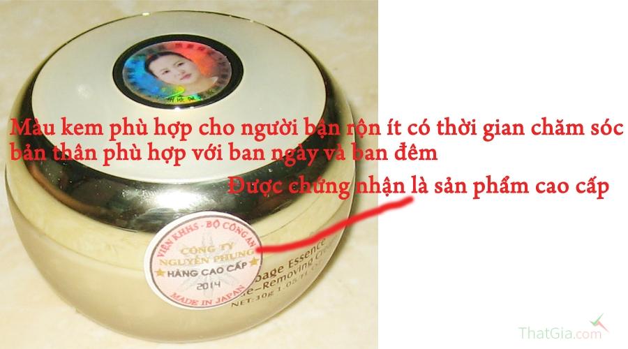 phân biệt kem sâm guoyao nhật Thật- Giả qua tem