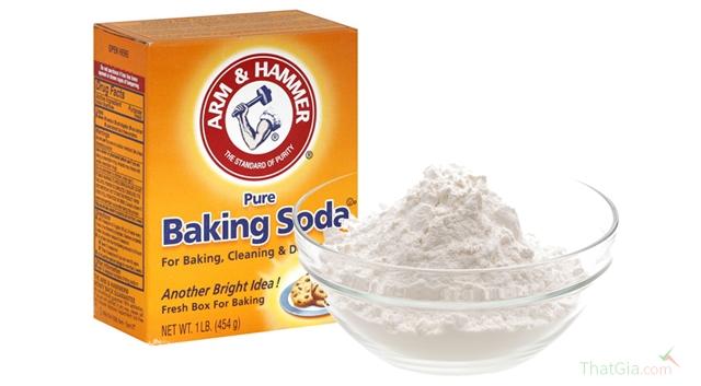 Phân biệt muối nở (Baking soda) Thật giả