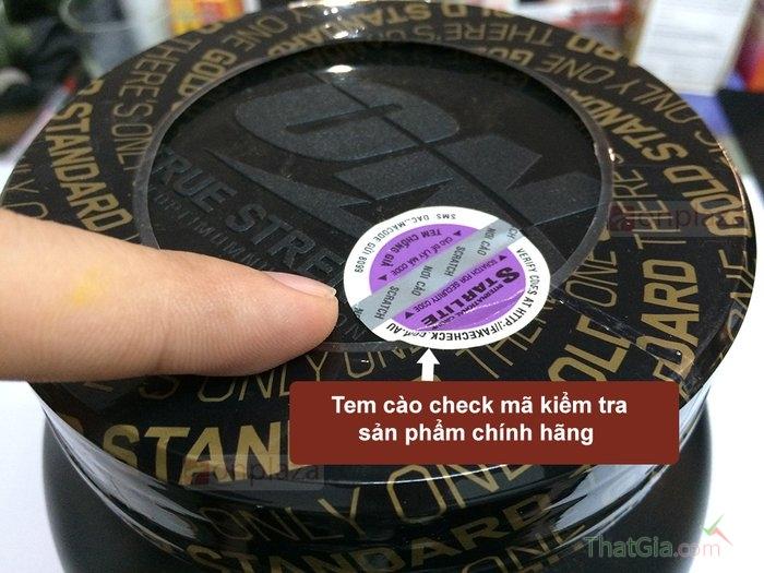 Tem check hàng hàng giả của sản phẩm sữa tăng cơ whey