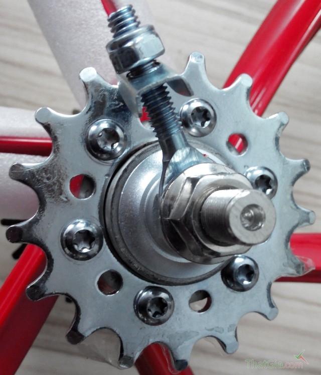 Líp trên xe đạp fixed gear thật