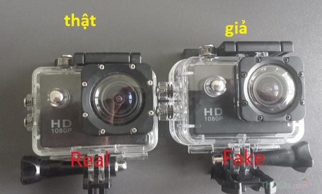 Cách phân biệt Camera Sjcam thật, nhái qua vỏ hộp