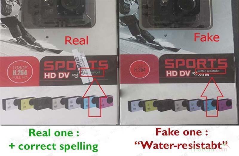 5 cách phân biệt camera thể thao SJCAM chính hãng.
