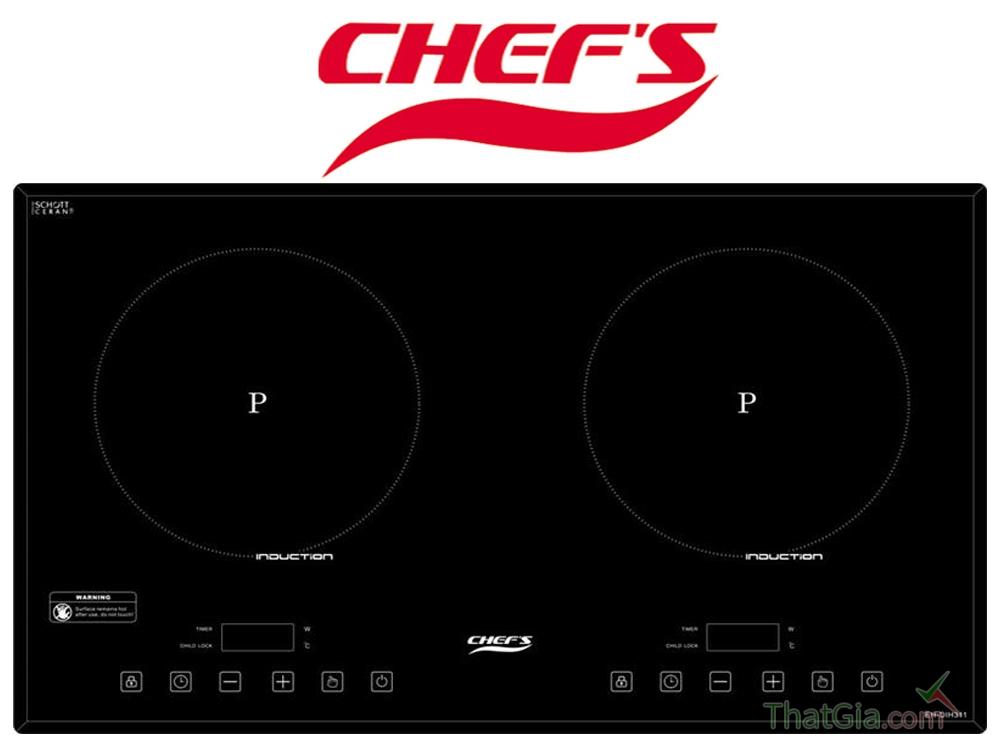 Cách đơn giản để nhận biết được bếp từ Chefs Nhái