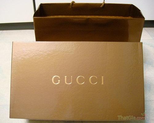 Hộp giày Gucci Authentic
