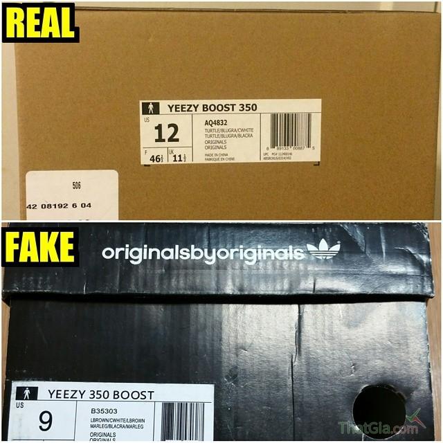 7 Cách nhận biết giày adidas yeezy 350 boosts hàng thật và fake 8