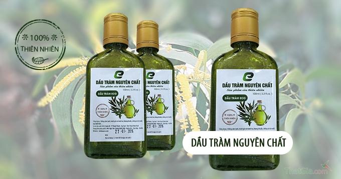 Mẹo phân biệt dầu tràm nguyên chất và dầu tràm pha
