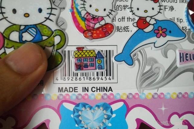Miếng dán hoạt hình từ Trung Quốc