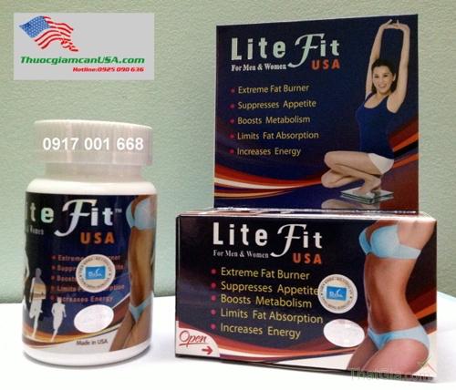 ThuốcLite Fit USA có 3 tem chống hàng giả
