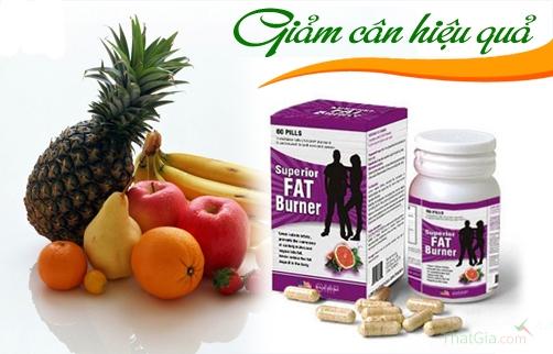 Thuốc giảm cân Superior Fat Burnercủa Tập đoàn Dược Robinson Pharma USA