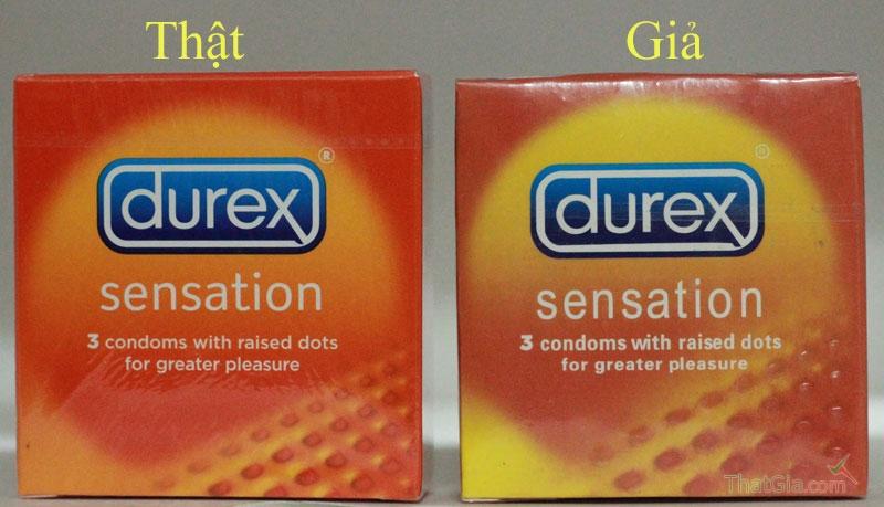 Phân biệt bao cao su Durex Thật và Giả