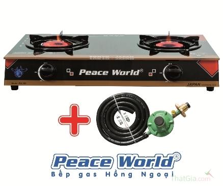 Phân biệt bếp ga hồng ngoại Peace World thật giả