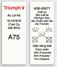 Phân biệt hàng Triumph thật - giả