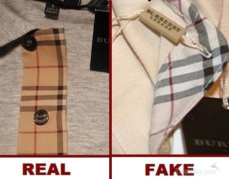 Hàng fake thường được làm bằng chất liệu rẻ tiền
