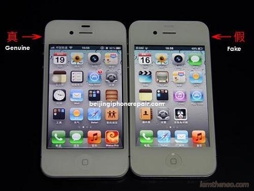 Cách nhận biết iPhone thật và giả chính xác nhất 4