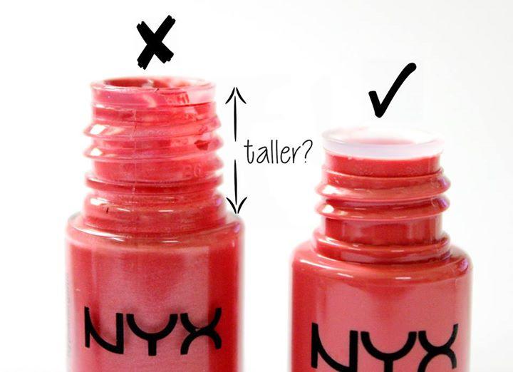 Cách phân biệt son thật giả - NYX Soft Matte Lip Cream