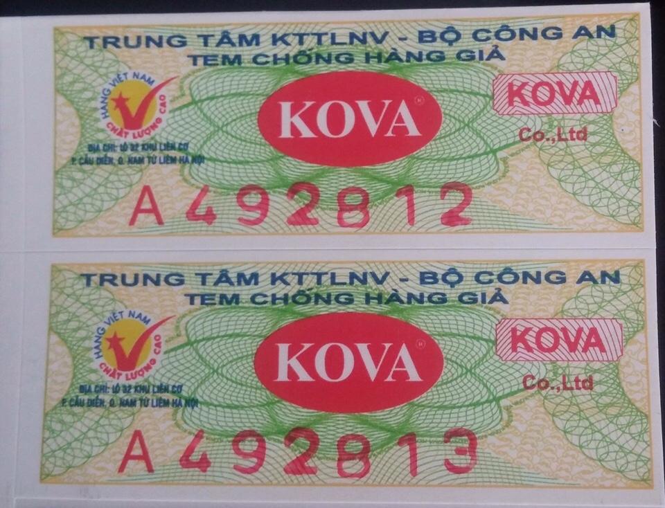 Bạn đã được tư vấn cách chọn sơn Kova chính hãng chưa?