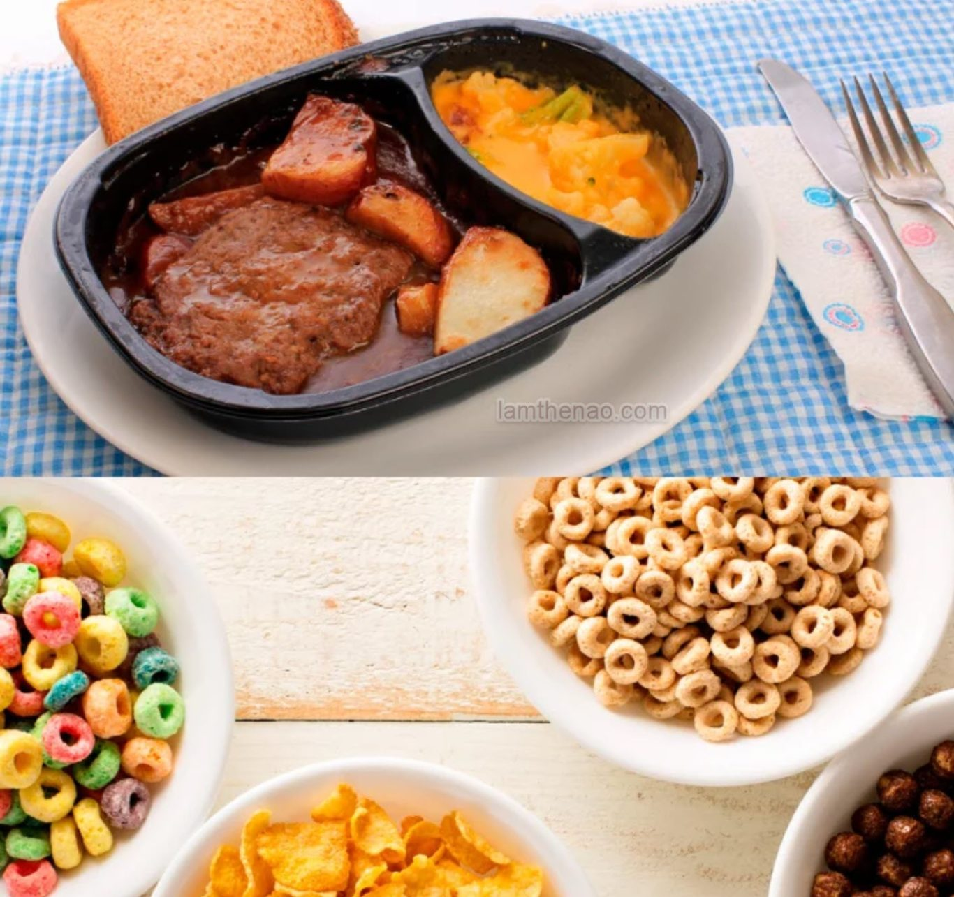 Thực phẩm nhiều axit không tốt cho cơ thể